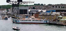 Photograph of the Floating Bridge between East and West Cowes
