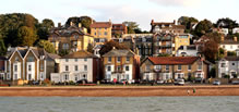 Photograph of Cowes seafront