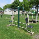 Photograph of mobile gym equipment - Combo