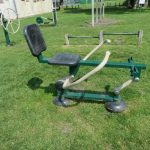 Photograph of mobile gym equipment - Self-weighted Rower