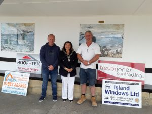 Mayor, Councillor Lora Peace Wilcox unveils refurbished Watchhouse Shelter