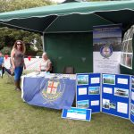 Town Council's display stand at The Big Lunch 2019