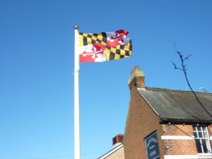 Maryland Flag - for decorative purposes