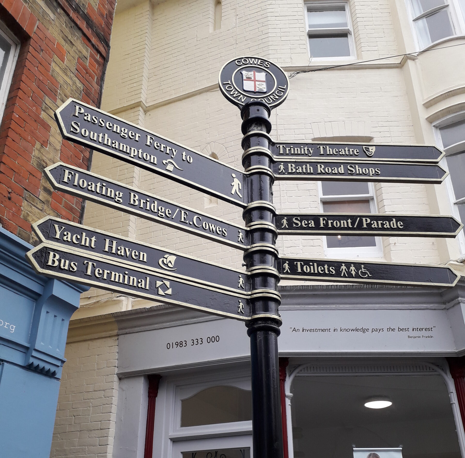 Photograph of Finger Post - for decorative purposes